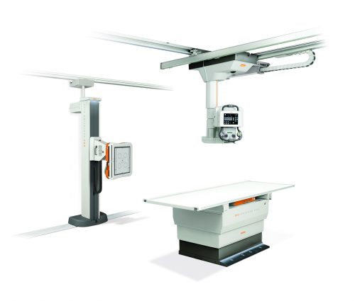 DRX-Evolution Plus direktedigitalt røntgen system